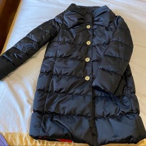 Kate spade bow puffer jacket